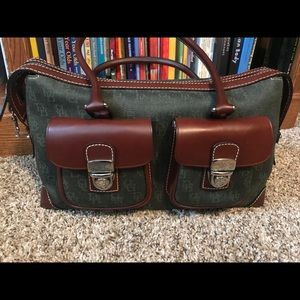 Dooney & Bourke Double Pocket Satchel